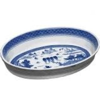 Mottahedeh Mottahedeh Blue Canton Oval Baking Dish