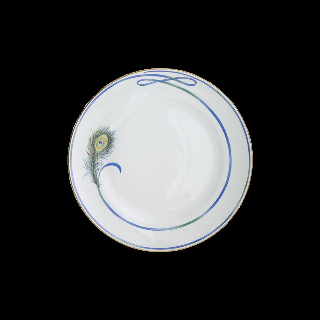 Mottahedeh Mottahedeh Peacock Dinner Plate