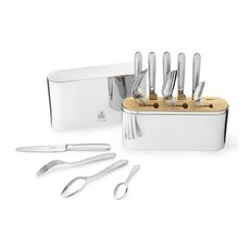 Christofle Cristofle Concorde Stainless Steel 24-piece set for 6 people