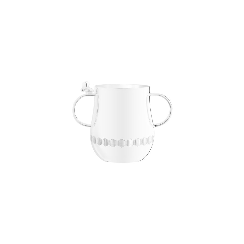 Christofle Christofle Beebee Double-Handled Baby Cup Silver Plated