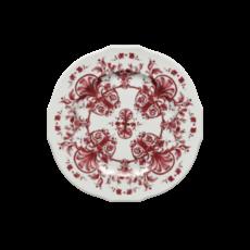 "Richard Ginori Richard Ginori Babele Red Charger Plate Duchessa shape 12.25"""