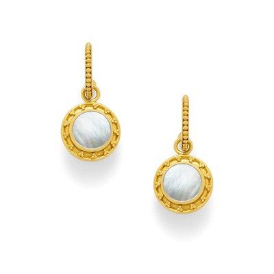 Julie Vos Julie Vos Sofia Earrings Gold/MOP
