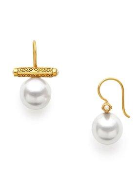 Julie Vos Julie Vos Medici Earring Shell Pearl*