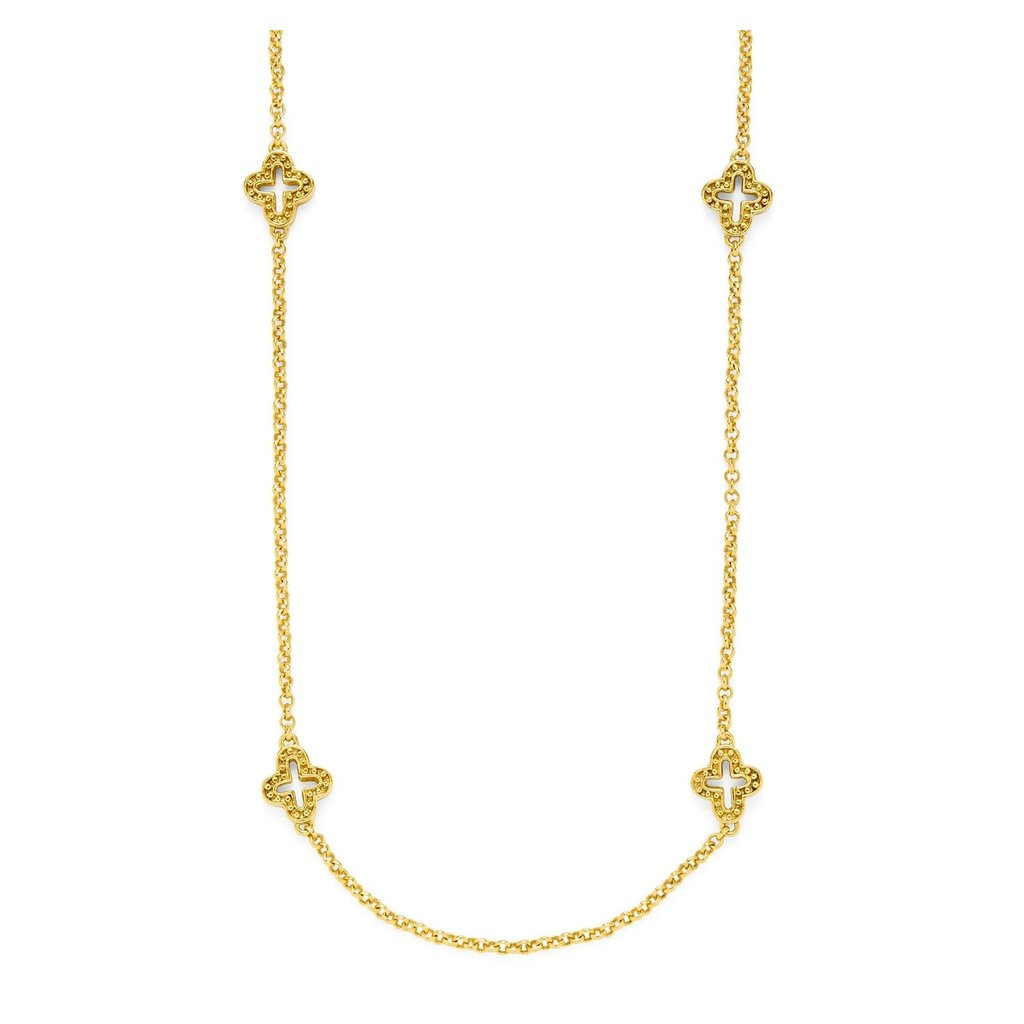 Julie Vos Julie Vos Florentine Station Necklace 38""