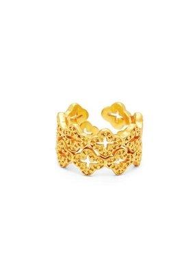 Julie Vos Julie Vos Florentine Stacking Ring Size 8/9