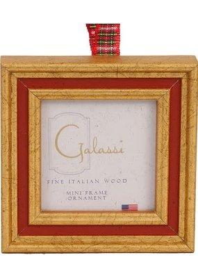 Galassi Galassi Red/Gold Ornament Frame