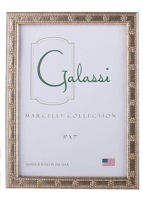 Galassi Galassi Marcelli Frame Thin Silver Daisy 8x10