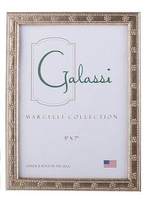 Galassi Marcelli Frame Thin Silver Daisy 5x7