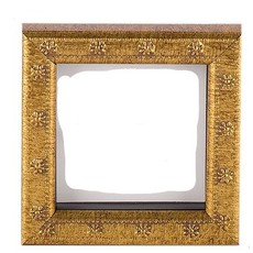 Galassi Marcelli Frame Thin Gold Daisy 4x4