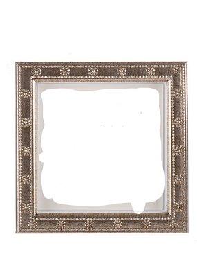 Galassi Galassi Marcelli Frame Thin Silver Daisy 4x4