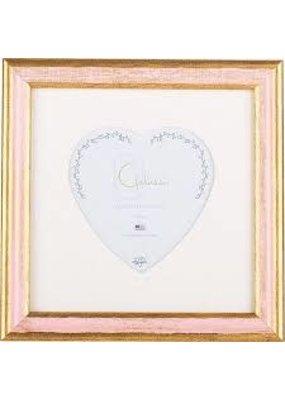 Galassi Galassi Traditional Pink/Gold w/3x3 heart mat