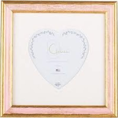 Galassi Galassi Traditional Pink/Gold w/3x3 heart mat