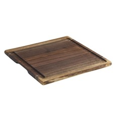 Andrew Pearce Andrew Pearce L Cutting Board w Juice Groove - Black Walnut
