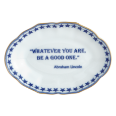 Mottahedeh Mottahedeh Whatever You Are Verse Tray- Abraham Lincoln