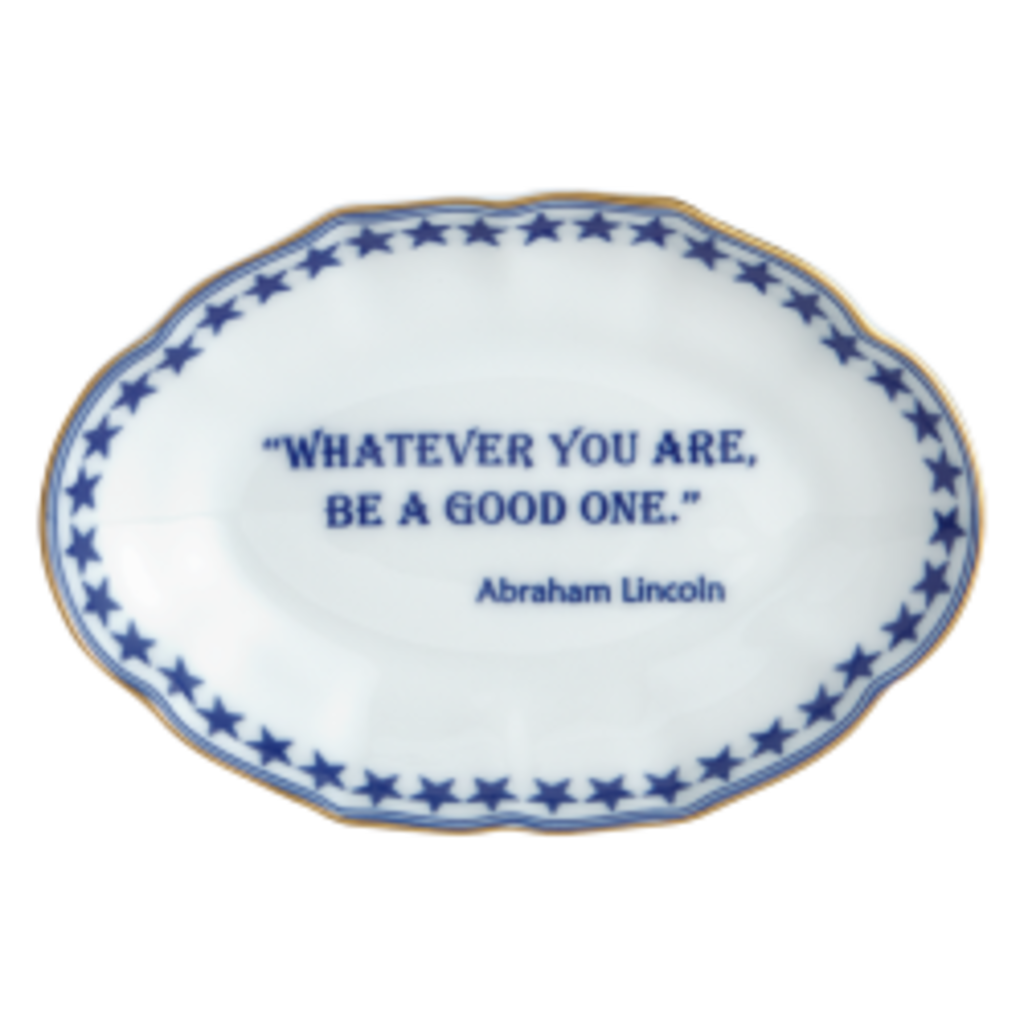 Mottahedeh Mottahedeh Great Minds Verse Tray- Eleanor Roosevelt