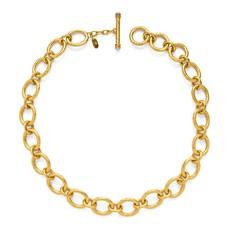 Julie Vos Julie Vos Catalina Small Link Necklace Pearl