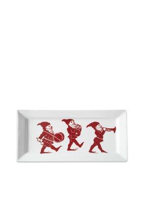 Caskata Caskata Elves Rectangular Tray in GB-Red