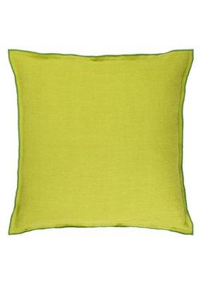 "Designers Guild Designers Guild Milazzo Lime Pillow 20x20"""