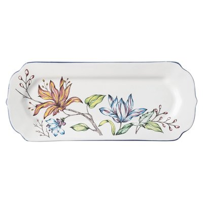 "Juliska Juliska Floretta Hostess Tray- 15"" L"