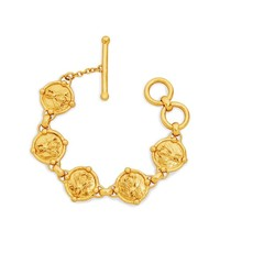 Julie Vos Julie Vos Bee Link Bracelet Gold
