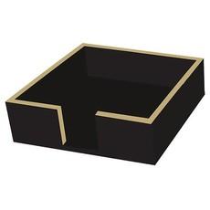 Paperproducts Design PPD Beverage Napkin Caddy - Black