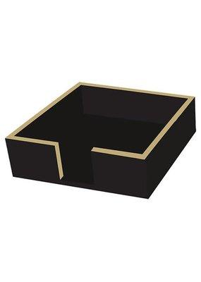 Paperproducts Design PPD Beverage napkin caddy- black