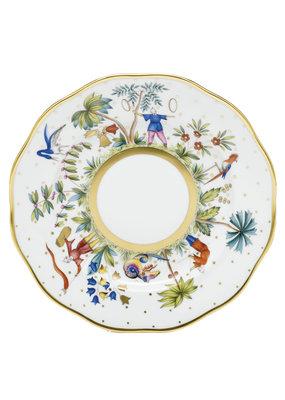 Herend Herend Asian Garden Bold Dessert Plate