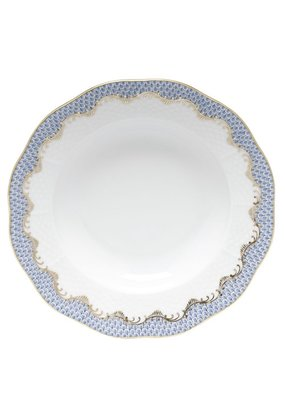 Herend Herend Fishscale Salad Plate- Light Blue