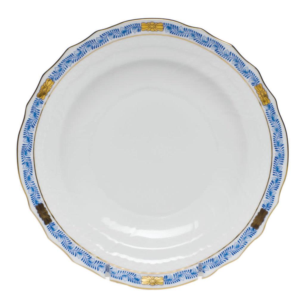 Herend Herend Chinese Bouquet Garland Dessert Plate- Blue