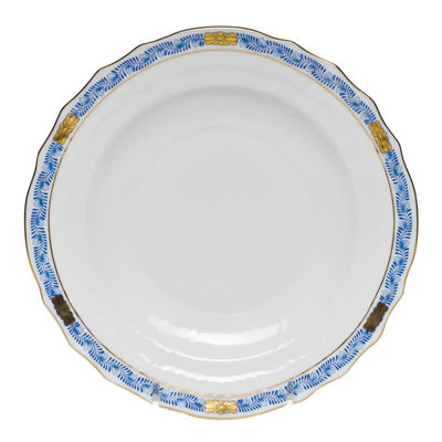 Herend Herend Chinese Bouquet Garland Dessert Plate- Blue