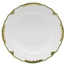 Herend Herend Princess Victoria Dinner Plate- Dark Green