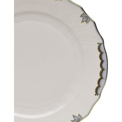 Herend Herend Princess Victoria Dinner Plate- Light Blue