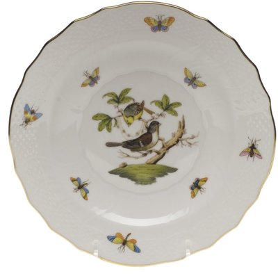 Herend Herend Rothschild Bird Salad Plate- Motif #1
