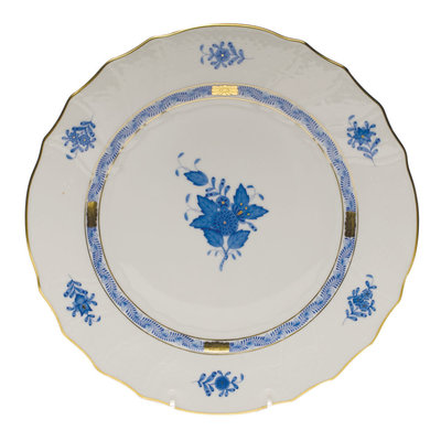 Herend Herend Chinese Bouquet Dinner Plate- Blue