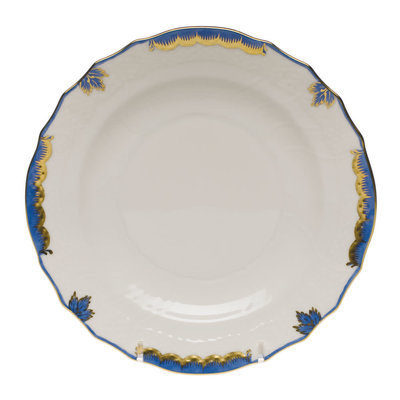 Herend Herend Princess Victoria Salad Plate- Blue