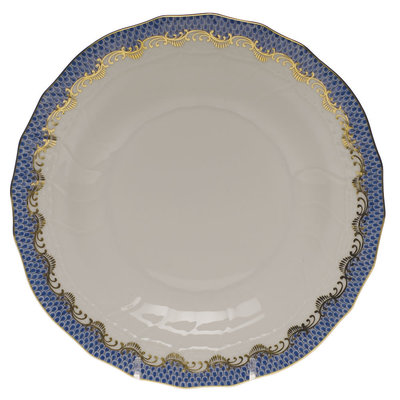 Herend Herend Fishscale B&B Plate- Blue
