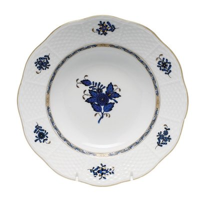 Herend Herend Chinese Bouquet Dinner Plate-Dark Blue