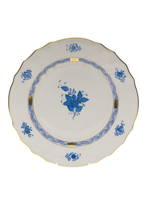 Herend Herend Chinese Bouquet B&B Plate- Blue
