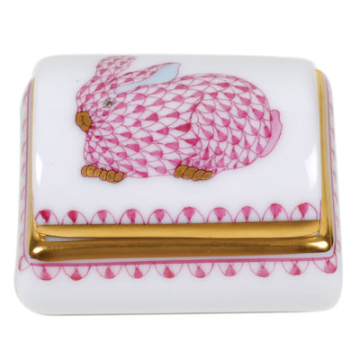 Herend Herend Tooth Fairy Box- Pink