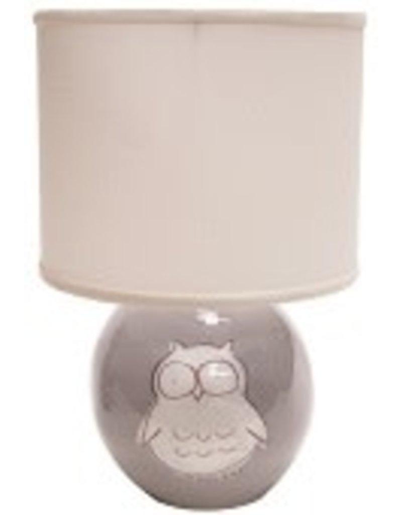 Alex Marshall Alex Marshall Owl Small Sphere Lamp in Grey