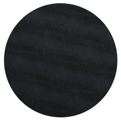 Caspari Caspari Round Placemat – Black Snakeskin