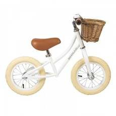 Banwood Balance Bikes Banwood Balance Bikes- First Go White Bike