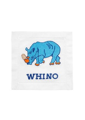 August Morgan August Morgan S/4 Cocktail Napkins -Whino