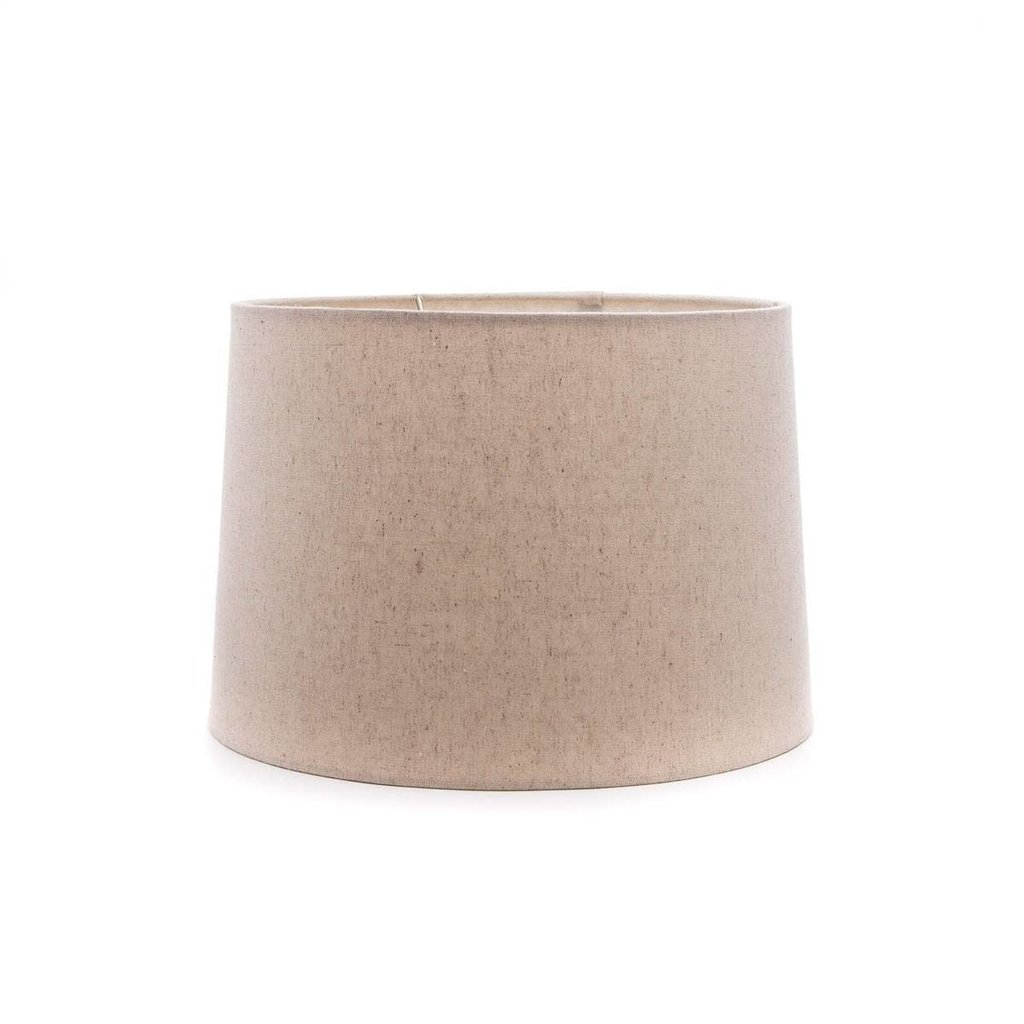 Simon Pearce Simon Pearce Linen Barrel Shade- Natural 13""