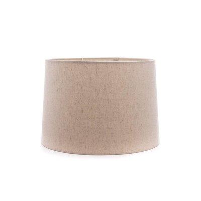 "Simon Pearce Simon Pearce Linen Barrel Shade- Natural 13"""