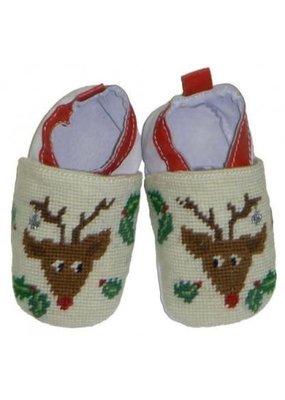 Rudolph Baby Bootie