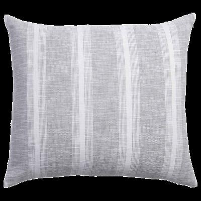 John Robshaw Textiles John Robshaw Niccan Gray King Euro Sham (Insert Sold Separate)