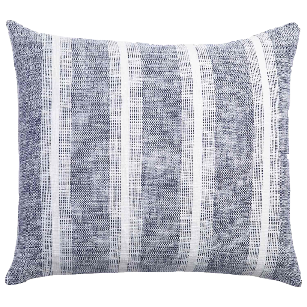 John Robshaw Textiles John Robshaw Niccan Indigo King Euro Sham (Insert sold separately)