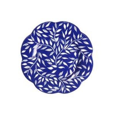 Royal Limoges ROYAL LIMOGES NYMPHEA OLIVIER - BLUE ALL OVER DESSERT PLATE