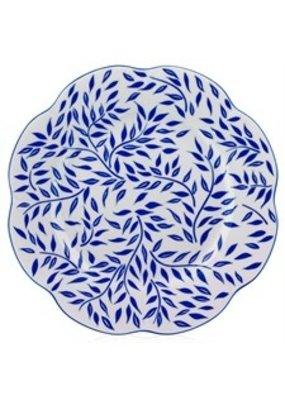 Royal Limoges ROYAL LIMOGES NYMPHEA OLIVIER - BLUE DINNER PLATE